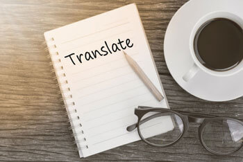 translate on notepad
